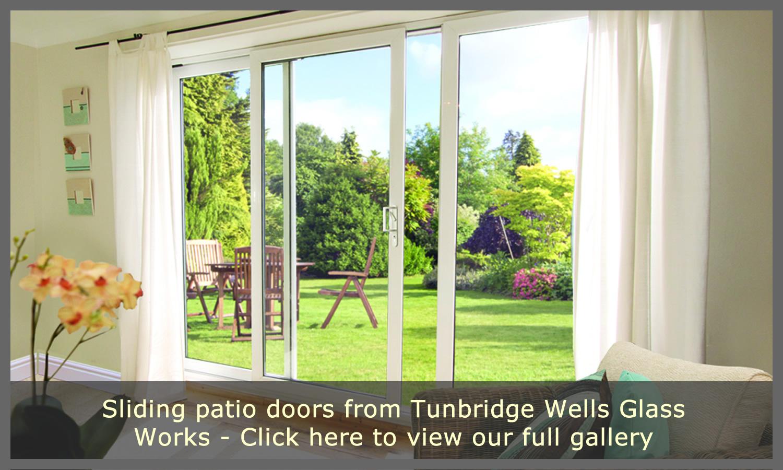 Patio doors tunbridge wells glass works sliding doors for Full open patio doors